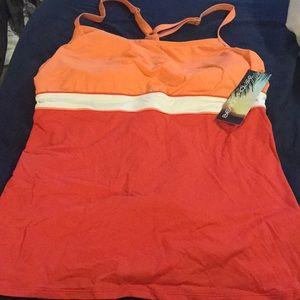 Other - Beach house brand orange swim top